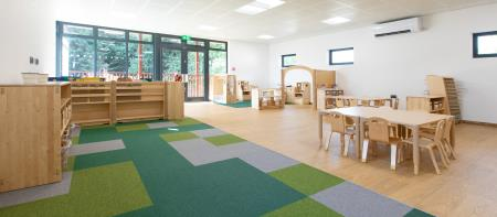 Merrydale in Wokingham expands with new Pre-School building